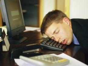 asleep at the keyboard