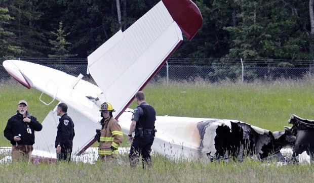 air crash in alaska